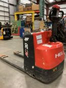 HELI PALLET JACK MODEL CBD20, ELECTRIC, APPROX MAX CAPACITY 4400, ELECTRICAL ISSUE, CONDITION UNKNOW