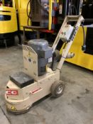 EDCO TURBO GRINDER MODEL TG105B2301 WITH SINGLE PHASE CHOICE ,BALDOR MOTOR OF APPROX 230 VOLTS RUNS