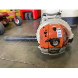 2009 STIHL BACKPACK BLOWER MODEL BR550 RUNS AND OPERATES