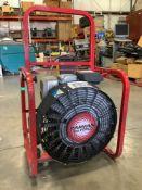 1 GAS POWER RESCUE TECHNOLOGY RAMFAN TURBO VENTILATION MODEL GF165SE WITH HONDA MOTORS RUNS AND OPER