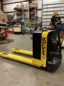 HYSTER ELECTRIC PALLET JACK MODEL W40Z,APPROX MAX CAPACITY 4000LBS RUNS AND OPERATES