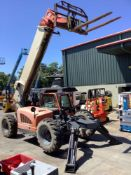 2012 JLG TELESCOPIC FORKLIFT MODEL G12-55A , DIESEL, APPROX MAX CAPACITY 12000LBS