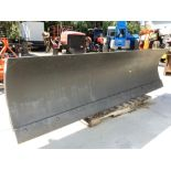 SKID STER PLOW ATTACHMENT APPROX 8FT LONG 2FT WIDE