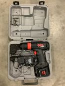 12V SKIL WARRIOR DRILL GUN WITH CHARGER & CARRYING CASE