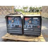 2 ELECTRIC RED-D-ARC E300 3+2 CONTRACTOR WELDERS/ THERMOFANS ,APPROX 480 VOLTS