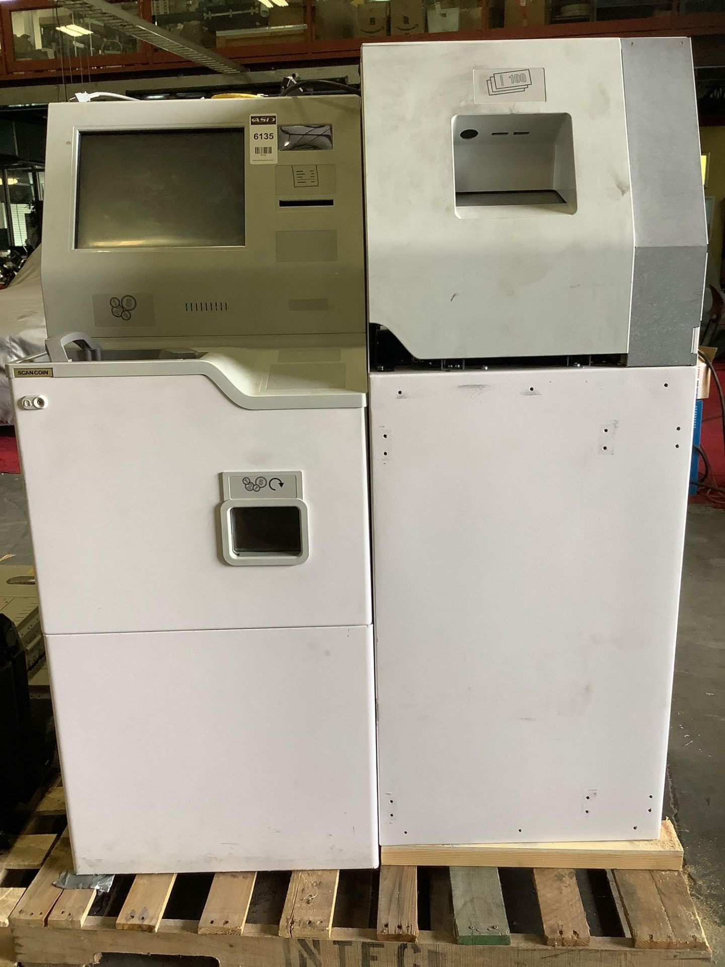 SCAN COIN MACHINE MODEL CDS9, APPROX AMP 4.0-2.0 A, APPROX VAC 90-240, APPROX HZ 60 - Image 4 of 12