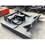 """UNUSED MOWER ATTACHMENT FOR SKID STEER APPROX 70"""" W X 77"""" L"""