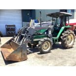 """YANMAR F395D TRACTOR WITH BUHLER ALLIED 295 BUCKET ATTACHMENT APPROX 72"""", DIESEL, 4-in-1 BUCKET, 4W"""