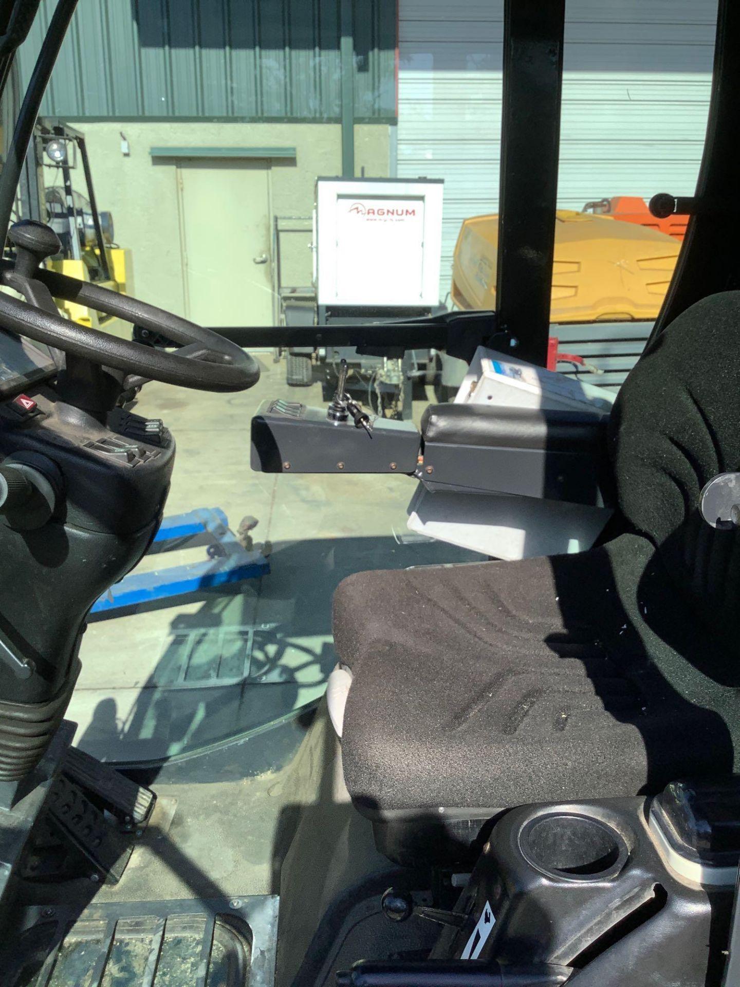 MADVAC COMPACT SWEEPER MODEL LS100 ,ENCLOSED CAB,BACK UP CAMERA, A/C AIR, EXTRA KEY - Image 11 of 15