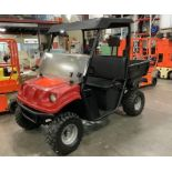 ELECTRIC AMERICAN SPORTSWORKS UTILITY CAR MODEL 48V WITH MANUAL DUMP BED
