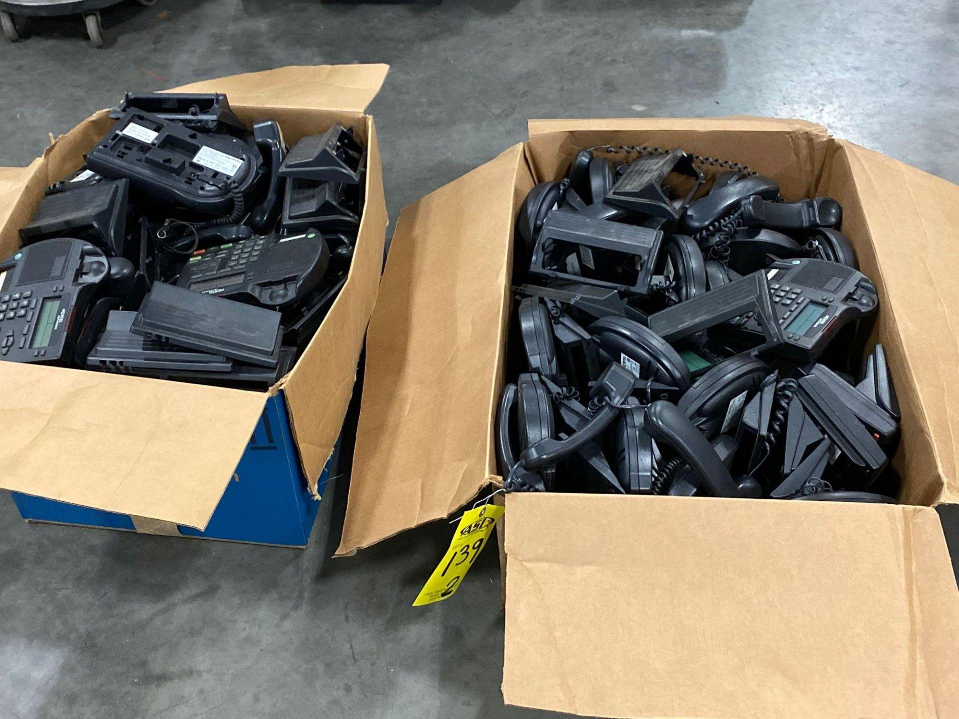TWO BOXES OF CISCO IP PHONES