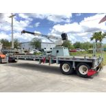 TRAILER HYDRAULIC AUTO CRANE MODEL 14005HP, APPROX MAX HEIGHT 38FT, APPROX MAX CAPACITY 14000LBS,
