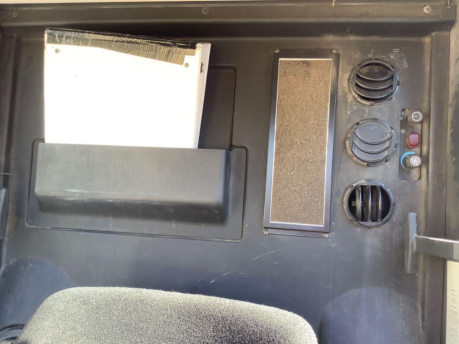 MADVAC COMPACT SWEEPER MODEL LS100 ,ENCLOSED CAB,BACK UP CAMERA, A/C AIR, EXTRA KEY - Image 9 of 15