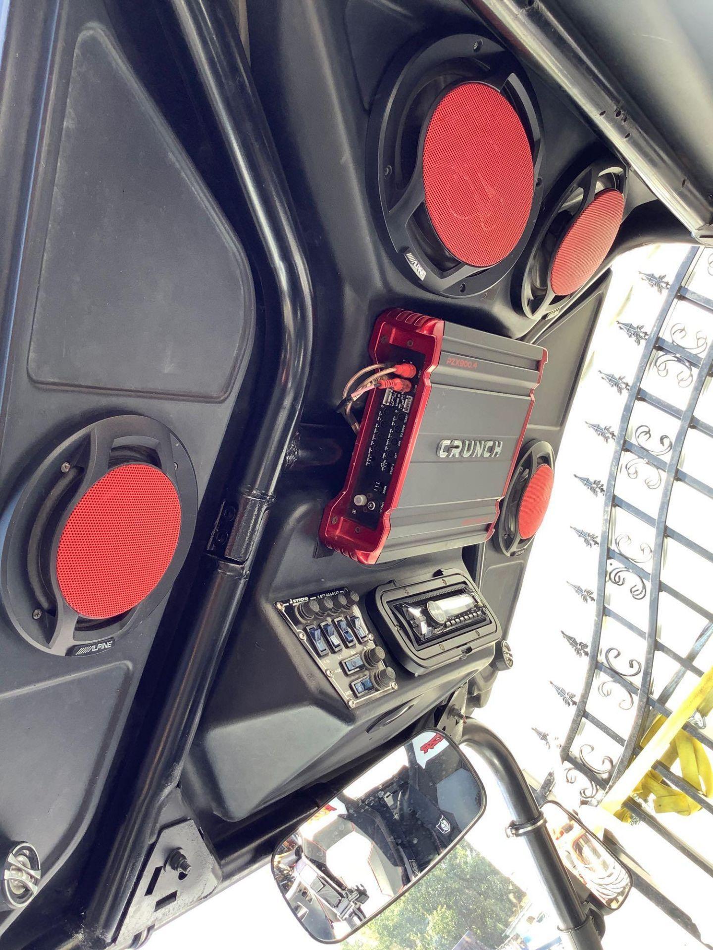POLARIS RANGER RZR XP 900, TRINITY STAGE 5 RACING MUFFLER, SNORKEL INTAKE, CRUNCH 900 WATTS AMPLIFY - Image 17 of 22
