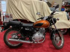 2016 SUZUKI TU250X MOTORCYCLE, RUNS AND OPERATES