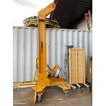 2019 CERTEX LIFTING BEAM FOR TIP END TYPE LM-074271, 14,000 KG CAP, ATTACHMENTS AND WEIGHTS INCLUDED