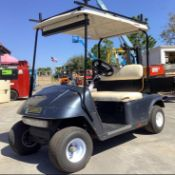 EZ-GO ELECTRIC GOLF CART MODEL 22740 BATTERY CHARGER, RUNS AND DRIVES