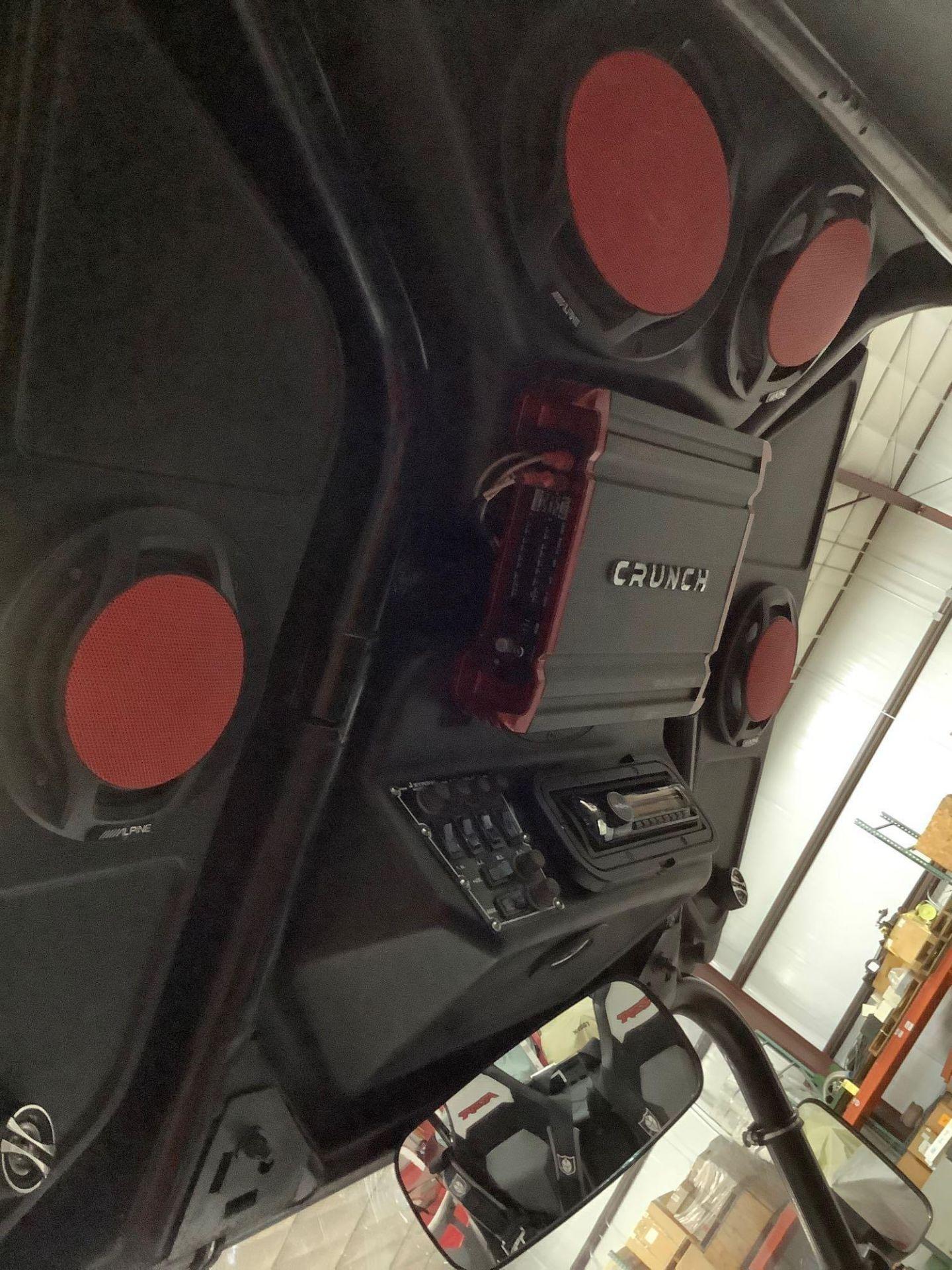 POLARIS RANGER RZR XP 900, TRINITY STAGE 5 RACING MUFFLER, SNORKEL INTAKE, CRUNCH 900 WATTS AMPLIFY - Image 14 of 22