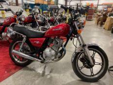 1997 SUZUKI MOTORCYCLE MODEL GN125ES. RUNS & DRIVES