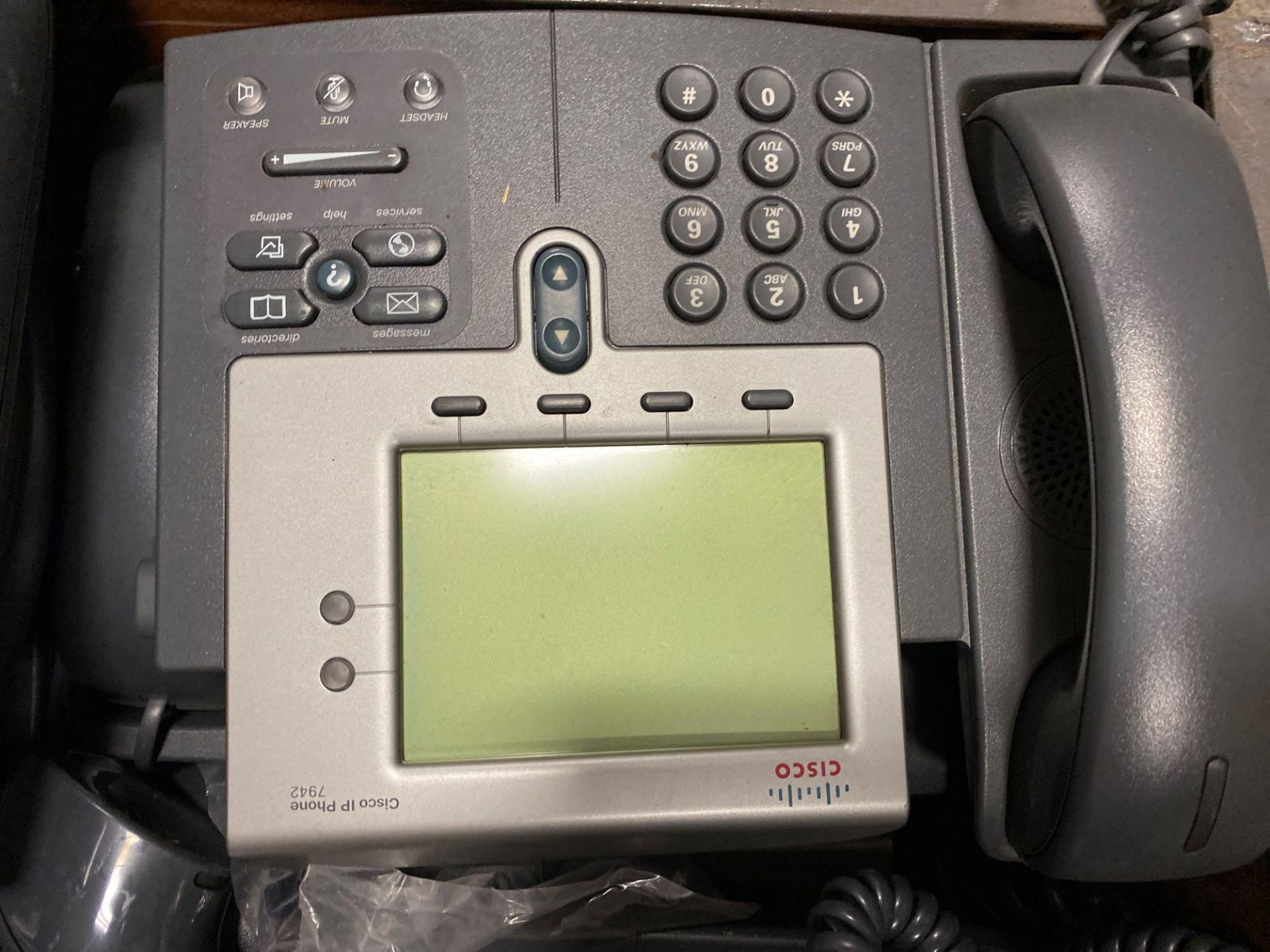 TWO CRATES OF CISCO IP PHONES - Image 2 of 6