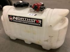 NORTHSTAR PROVEN PERFORMANCE SPRAYER MODEL 2270 WITH APPROX 24 GALLON CAPACITY, 12VDC VOLTS, APPROX