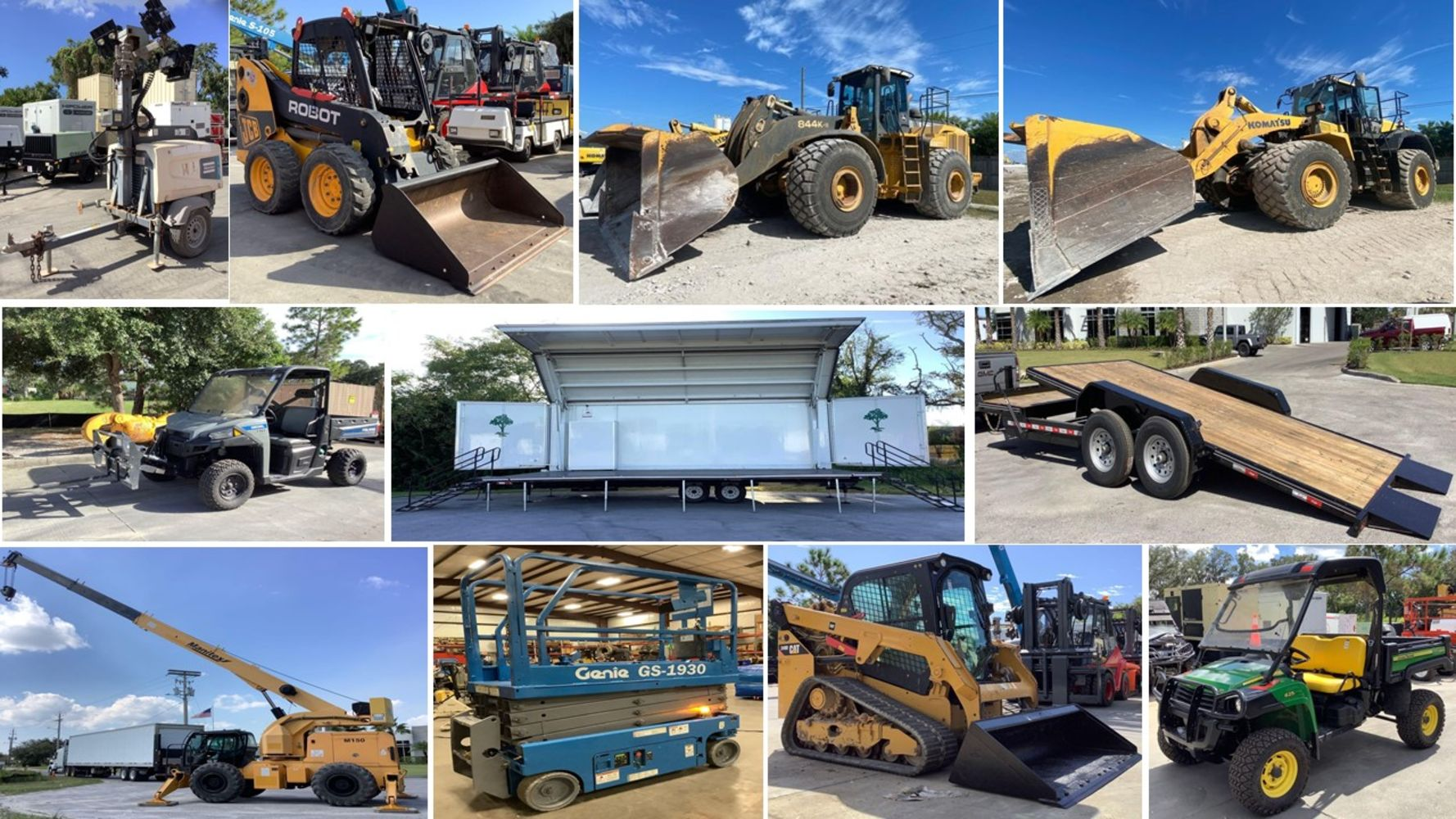 Industrial Warehouse & Construction Equipment Auction