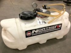 NORTHSTAR PROVEN PERFORMANCE SPRAYER MODEL 268180Q WITH APPROX 14 GALLON CAPACITY, APPROX MAX PSI 20