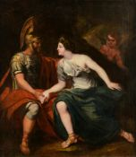 No visible signature,ÿHector's farewell to Andromache, late 18thC / early 19thC, oil on canvas, 100
