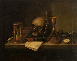 Memento Mori, a Vanitas still life, 51,5 x 63 cm