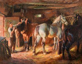 Raymond Louis Lecourt (1882-1946), 74 x 92 cm