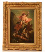 The Resurrection of Christ, Italian school, 19thC, 39,5 x 55,5 cm