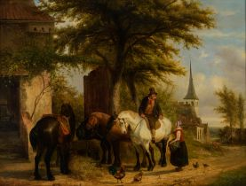 Ildephonse Stocquart (1819-1889), 83 x 110 cm