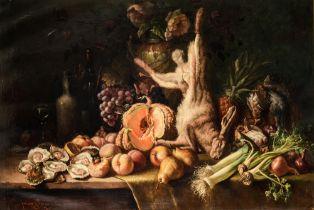 Jos van Genegen (1857-1936), still life, 81 x 120 cm