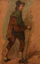 Louis Robbe (1806-1887), traveller, 30 x 46,5 cm