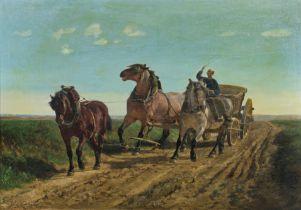Jules Montigny (1847-1899), 77 x 110 cm