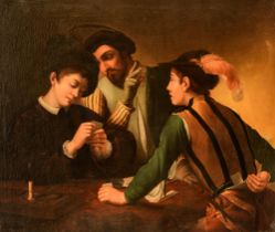 Alexandre Humbert Chatelain (1788-1852), after Caravaggio, 110 x 131 cm