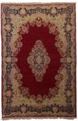 An Oriental Ghoum rug, 217 x 332 cm