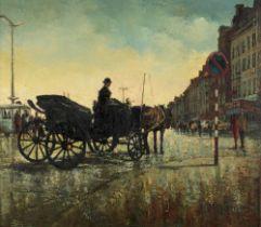Jan Van Gent (Jef van Turnhout), 70 x 80 cm