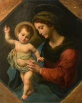 Sykora L., Madonna with Child, after Carlo Dolci, 78 x 95 cm