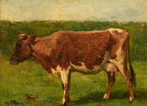 Alfred Verwee (1838-1895), 1862, 40,5 x 55,5 cm