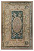 A large Aubusson rug, 553 x 370 cm