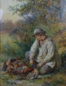 James Hardy Jnr (1832-1882) (James II Hardy ) Watercolour with gouache highlights The Young