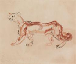 Ludwig Heinrich Jungnickel, Schreitender Puma