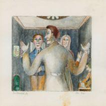 Albert Paris Gütersloh, Der Eid