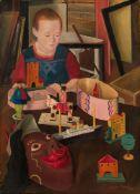 Sergius Pauser, Kind mit Spielzeug