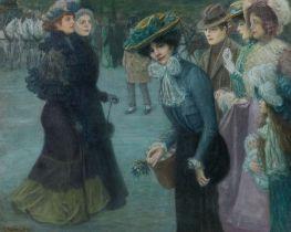 Theodor Bruckner, Wiener Straßenszene