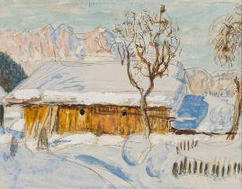 Alfons Walde, Verschneiter Berghof