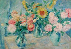 Alfred Buchta, Drei Vasen