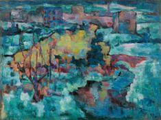 Josef Floch, Wiener Ansicht im Winter