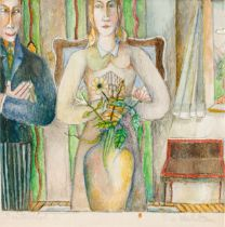 Albert Paris Gütersloh, Die Verlobten